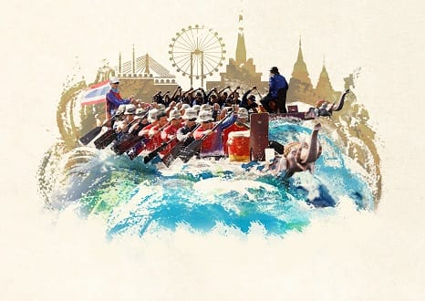 Top Ten Reasons to Attend Bangkok's First Ever King's Cup Elephant Boat Race and River Festival
