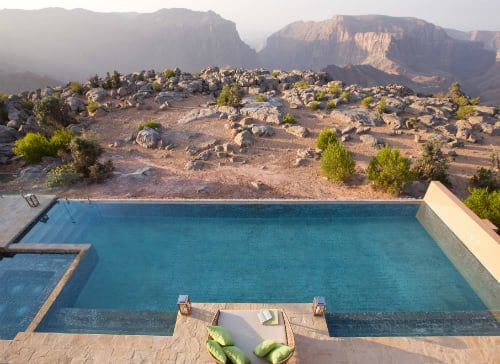 Anantara to Launch the Middle East's Highest Five-Star Resort,  Anantara Al Jabal Al Akhdar Resort