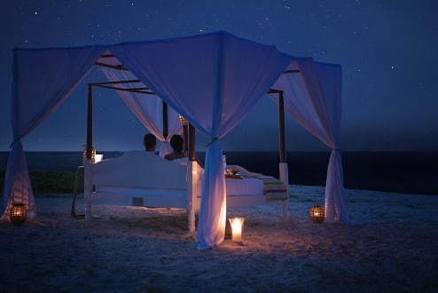 Escape to the Ultimate Private Island Sleep Out With Anantara Medjumbe Island's Star Bed Experience