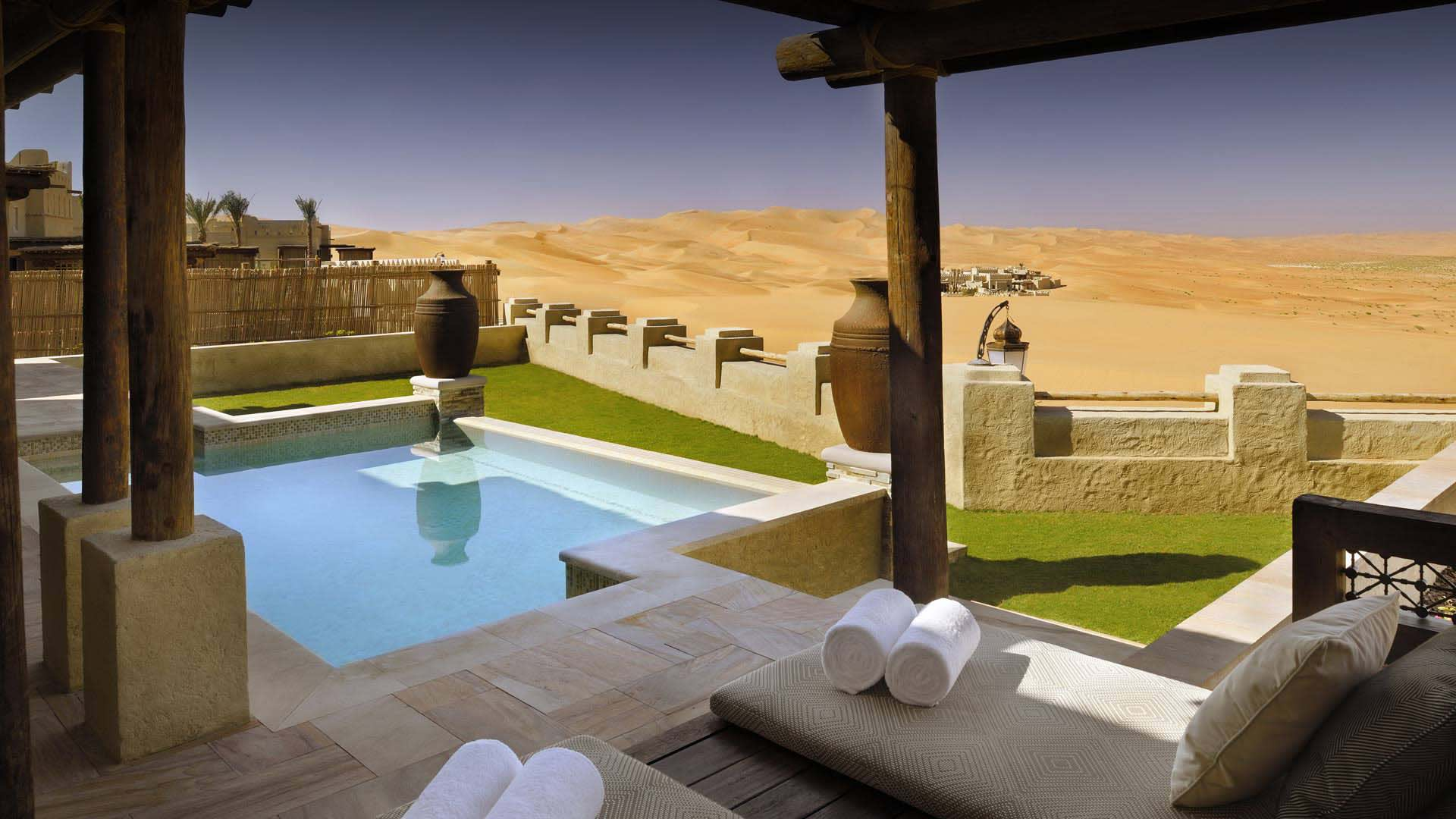 Abu Dhabi Resort | Qasr Al Sarab Desert Resort by Anantara